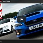 【映像】スバル「WRX STI」とアウディ「S3」を徹底比較!