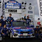 新井敏弘、逆転で今季3勝目を獲得!:2016年全日本ラリー選手権第7戦 RALLY HOKKAIDO